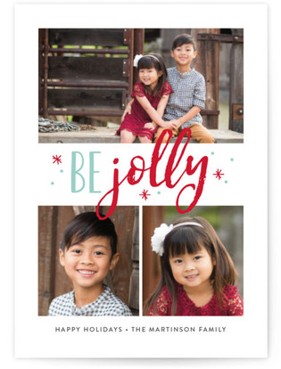 Jolly Stars Holiday Postcards