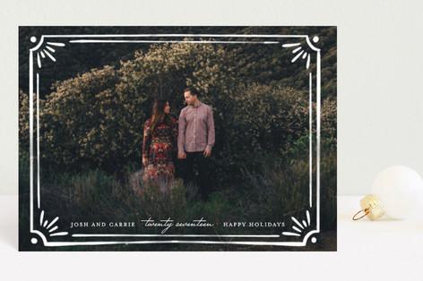 Framed Holiday Postcards