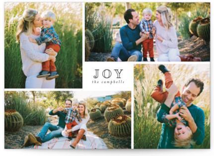 Much Joy Holiday Postcards