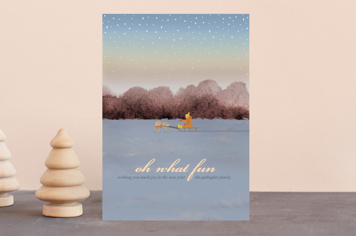 """Jingle All the Way"" - Holiday Postcards in Dusk by Shannon."