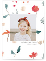 This is a white christmas postcard by Lindsay Megahed called Christmas Sketch with standard printing on signature in postcard.
