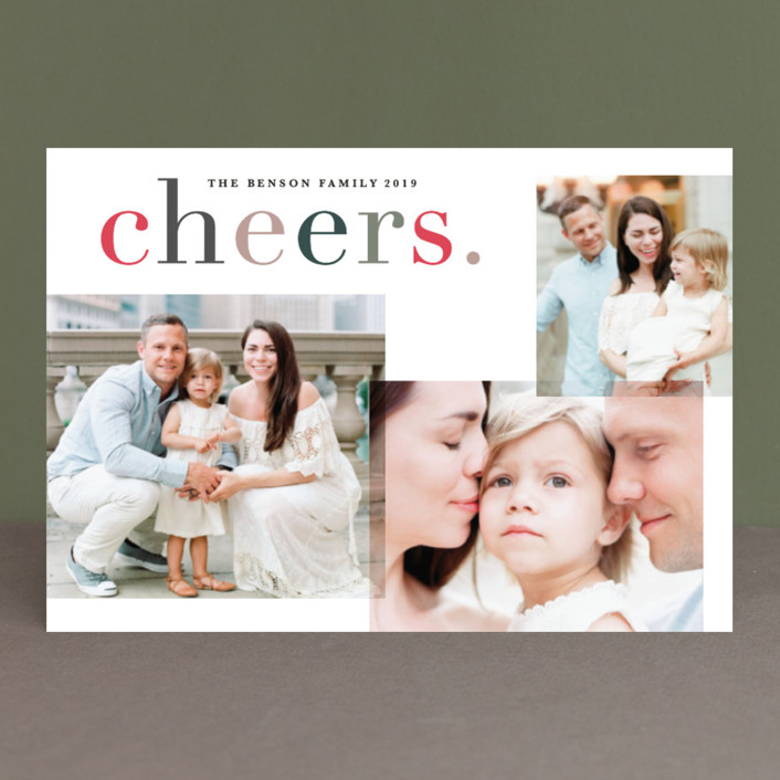 """""""Colorfully blessed"""" - Holiday Postcards in Amaze by Creo Study."""