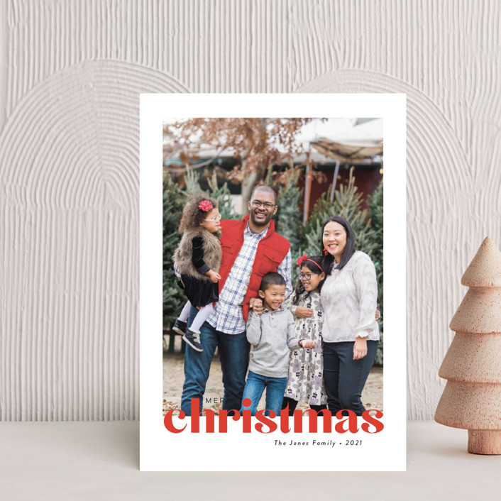 """""""Bold Greeting"""" - Holiday Postcards in Santa by Susan Asbill."""