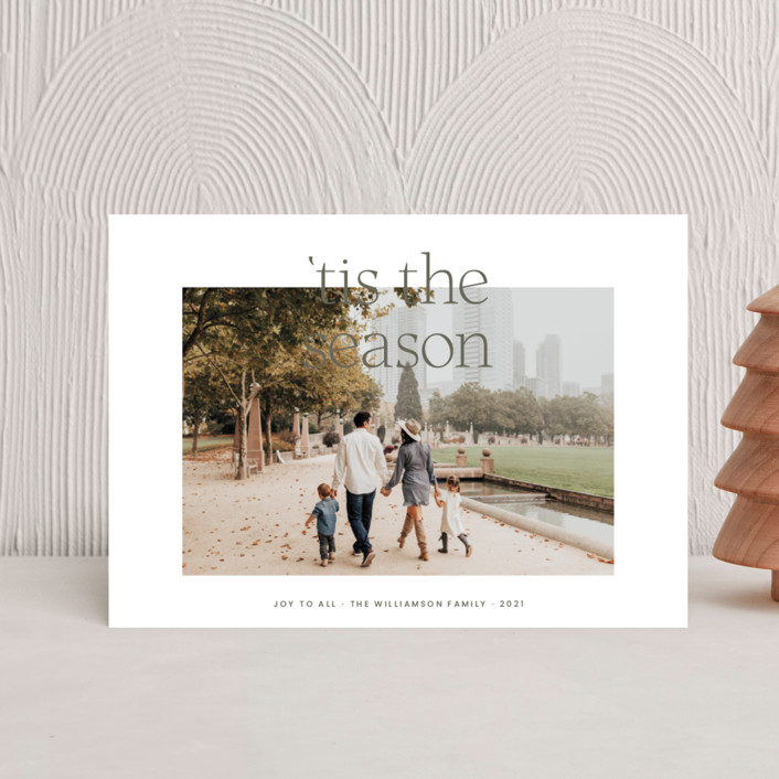 """""""'Tis the Season"""" - Holiday Postcards in Fir by Blustery August."""