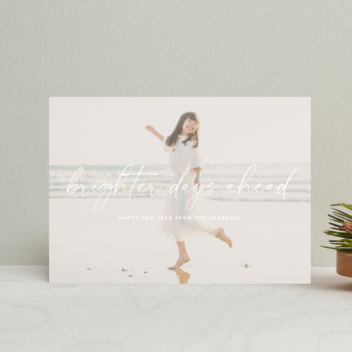 """""""Here Comes the Sun"""" - Holiday Postcards in Cloud by Sara Hicks Malone."""