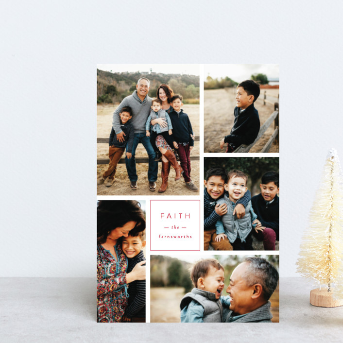 """""""Multi Fresh"""" - Holiday Postcards in Apple by Michelle Poe."""