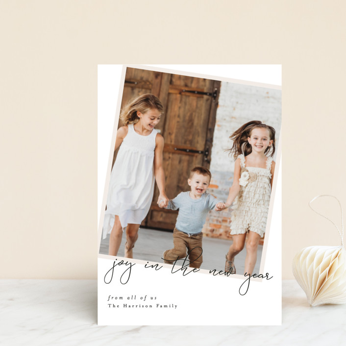 """""""You and Yours"""" - Holiday Postcards in Eggnog by Ella Weaver."""