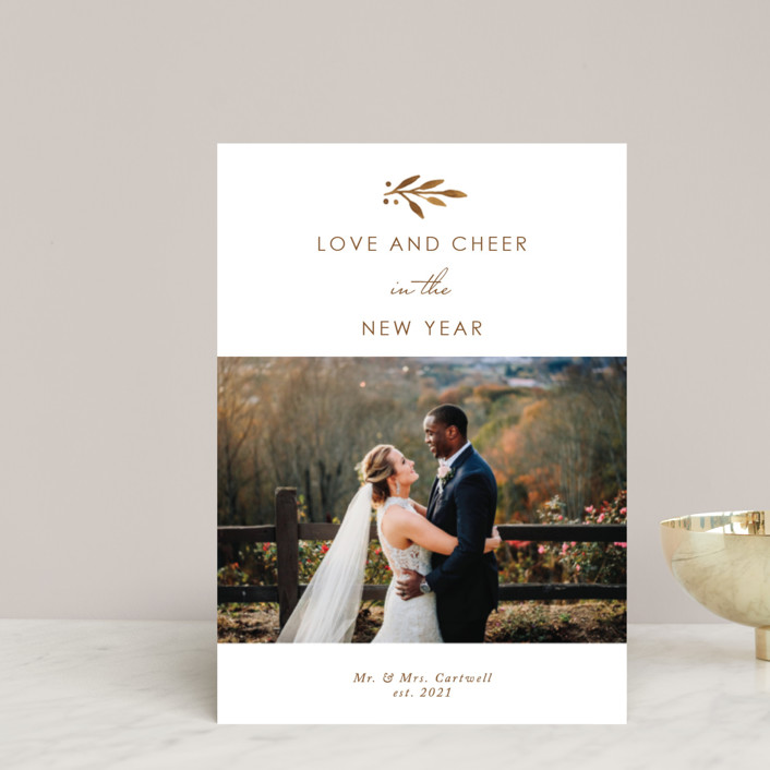 """""""So Much Love"""" - Holiday Postcards in Champagne by Kelly Nasuta."""