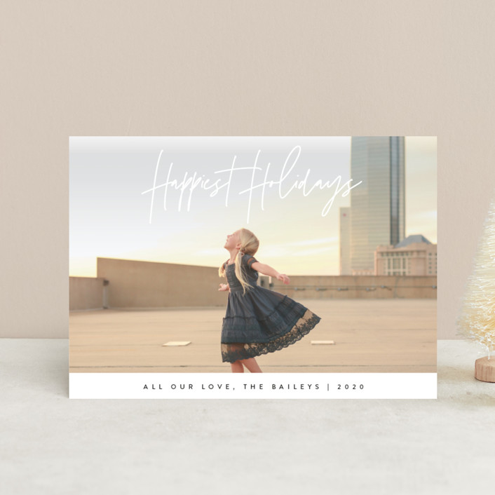 """headline"" - Holiday Postcards in Snow by JoAnn Jinks."