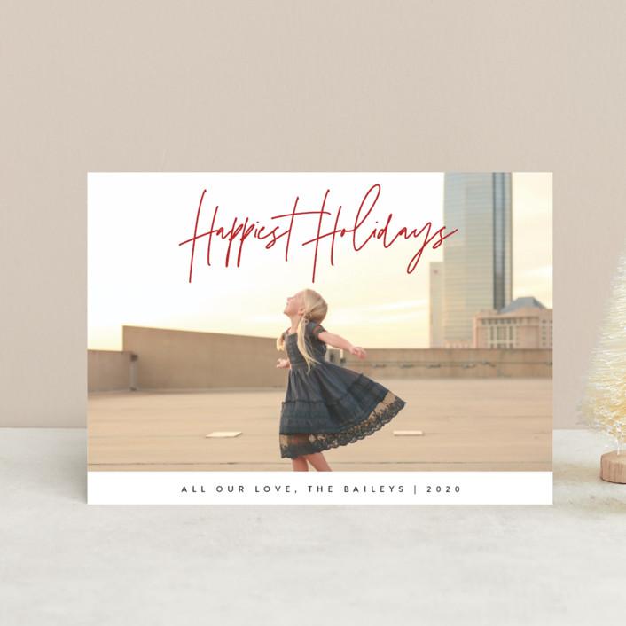 """headline"" - Holiday Postcards in Coal by JoAnn Jinks."