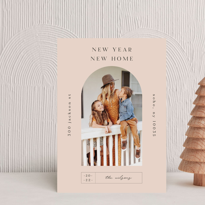 """Doorway."" - Holiday Postcards in Mauve by Nazia Hyder."