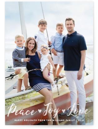 Peace Joy Love Holiday Postcards