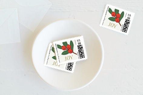 Holiday Vines Holiday Stamps