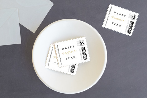 So Modern Holiday Stamps