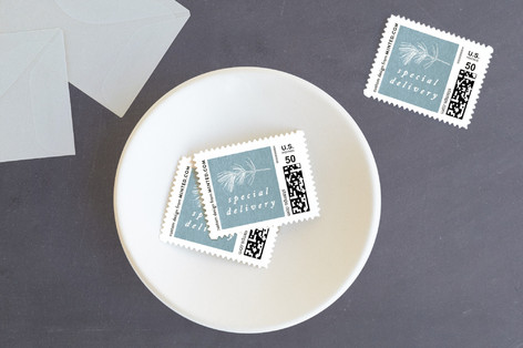 Snowy Peace Holiday Stamps