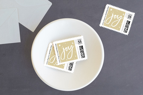 The Merries Holiday Stamps