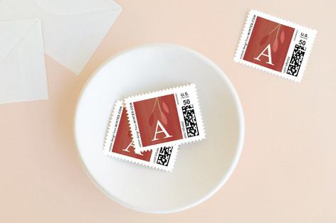 Gilded Juniper Holiday Stamps