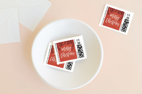 Festive Foliage Holiday Stamps