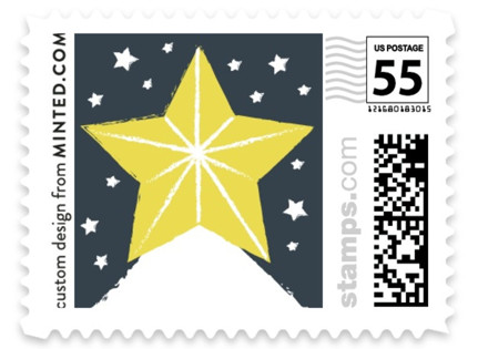 Snow Star Holiday Stamps