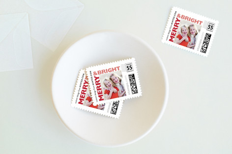 Merry Bright Holiday Stamps