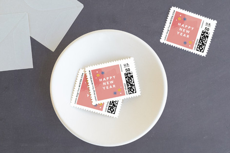 Scripted 2018 Holiday Stamps