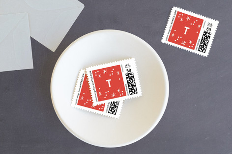 Glory to God in the Highest Star Holiday Stamps