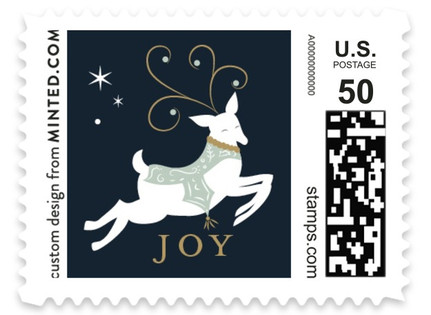 Reindeer Games Holiday Stamps