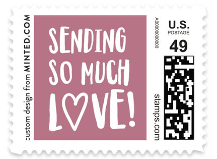 Secret Admirer Holiday Stamps