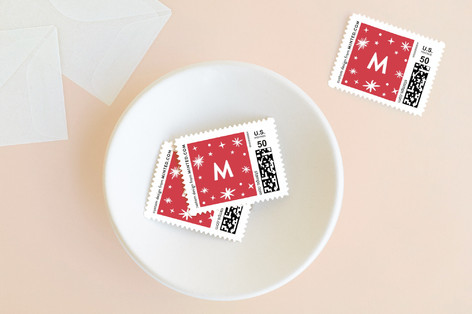 All the Merries Holiday Stamps