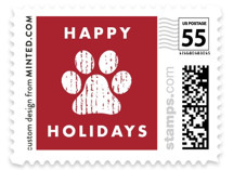 Howliday Paws Holiday Stamps
