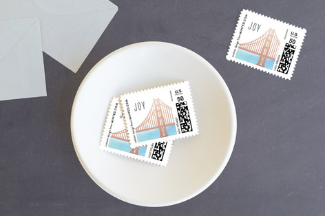 San Francisco Greetings Holiday Stamps