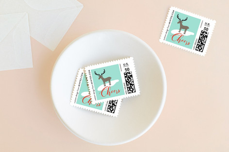 Winter Wonderland Holiday Stamps