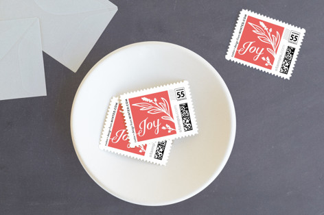 Happiest of Holidays Holiday Stamps