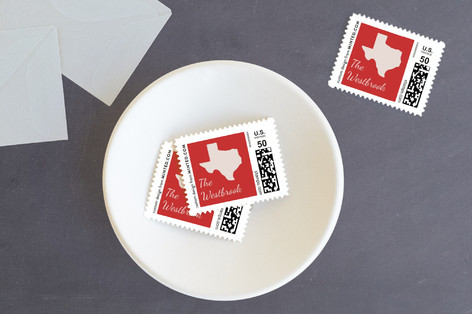 Happy Holidays Yall Holiday Stamps