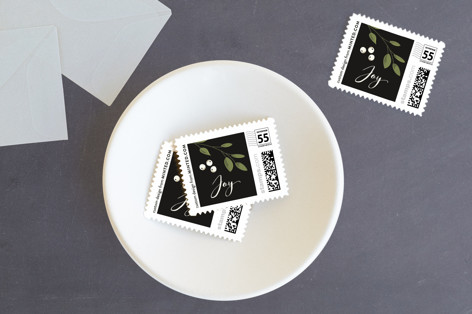 Holiday Party Greens Holiday Stamps