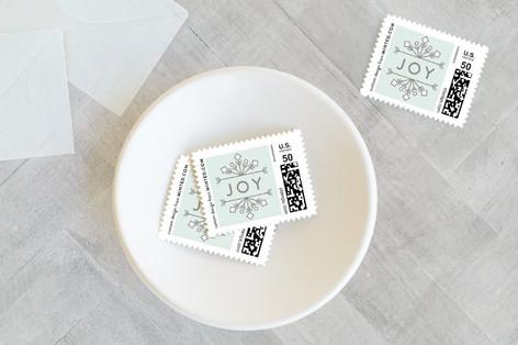 Wishing Joy Holiday Stamps