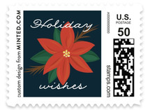 Bold Peace Holiday Stamps
