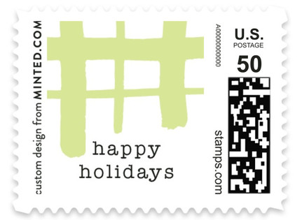 Classroom Plaid Holiday Stamps