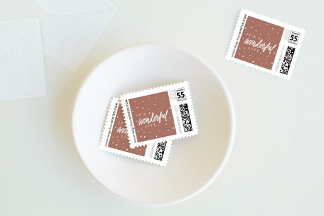 Wonderful Things Holiday Stamps
