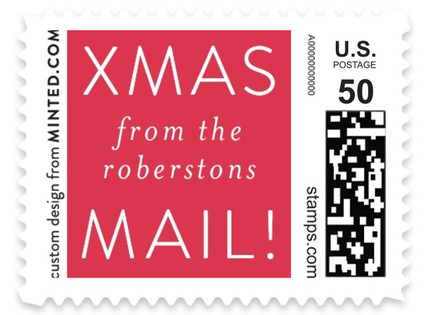 no filter Holiday Stamps