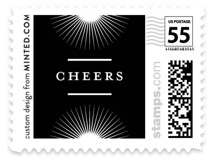 Simple. New. Year. Holiday Stamps