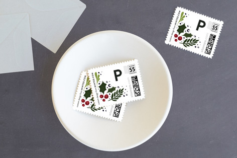Very Merry Holiday Stamps