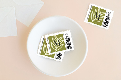 Festive Pine Holiday Stamps