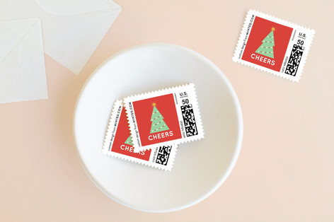 Icons Peace Love Joy Holiday Stamps