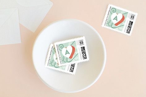 Loving Sharing Giving Holiday Stamps