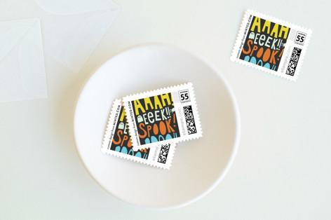 Booo, Eeek, Ahhh Holiday Stamps