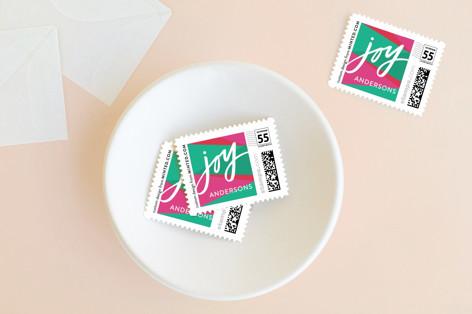 Bright Geo Joy Holiday Stamps