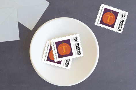 Icons of Halloween Holiday Stamps