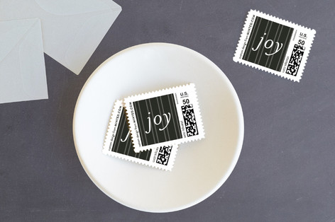 Modern & Minimal Holiday Stamps