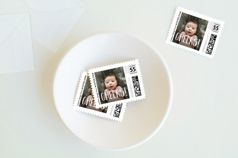 Cheers Holiday Stamps